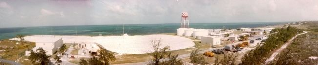 Panorama of NAVFAC Grand Turk In full Operation image. Click for full size.