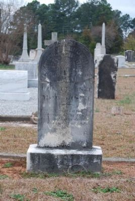 Rev. Claudius Hornsby Pritchard<br>Tombstone image. Click for full size.