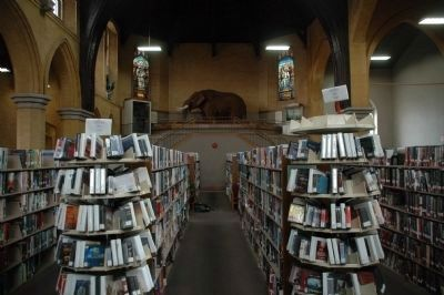 There is a Mastodon in the Cohoes Public Library image. Click for full size.