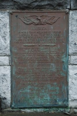Cohoes City Hall Plaque image. Click for full size.