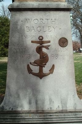 Worth Bagley Monument image. Click for full size.