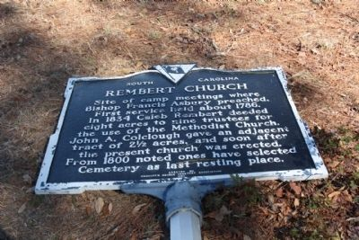 Rembert Church Marker image. Click for full size.