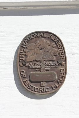 Rembert Church National Register Of Historic Places Medallion image. Click for full size.