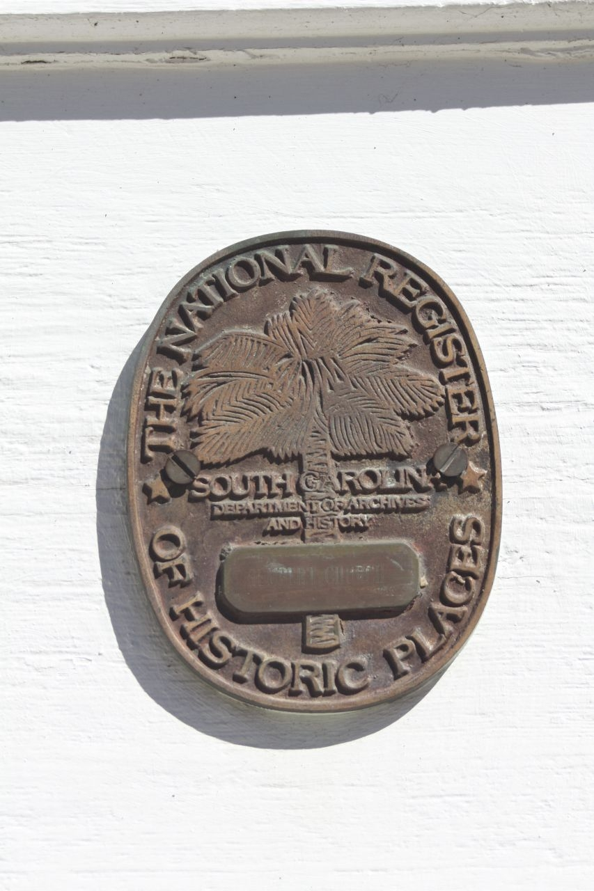 Rembert Church National Register Of Historic Places Medallion