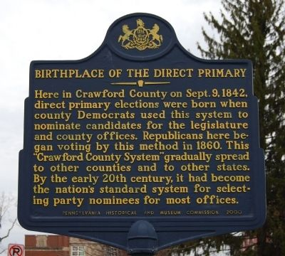 Birthplace of the Direct Primary Marker image. Click for full size.