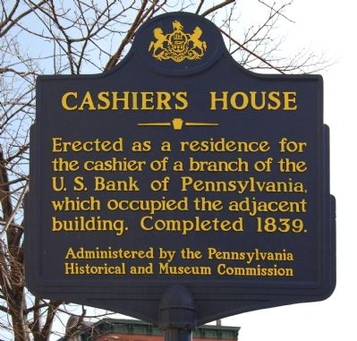 Cashier's House Marker image. Click for full size.