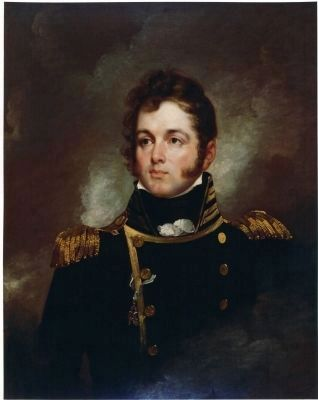 Captain Oliver Hazard Perry, USN (1785-1819) image. Click for full size.