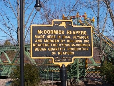 McCormick Reapers Marker image. Click for full size.
