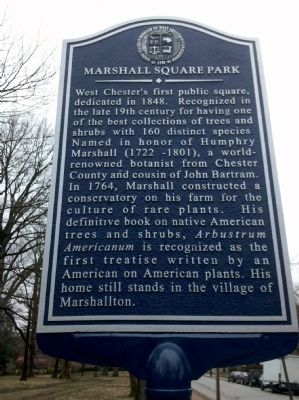 Marshall Square Park Marker image. Click for full size.