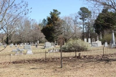 Rembert Cemetery and Marker image. Click for full size.