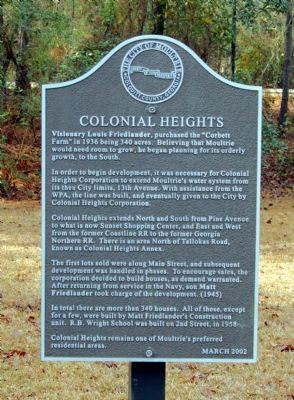 Colonial Heights Marker image. Click for full size.
