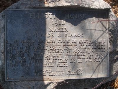 Elliott House Marker image. Click for full size.