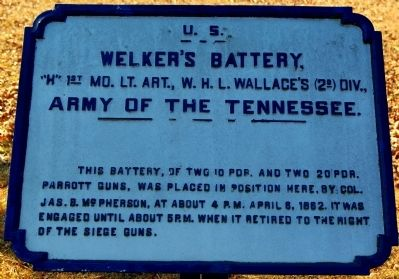 Welker's Battery Marker image. Click for full size.