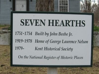Seven Hearths Marker image. Click for full size.