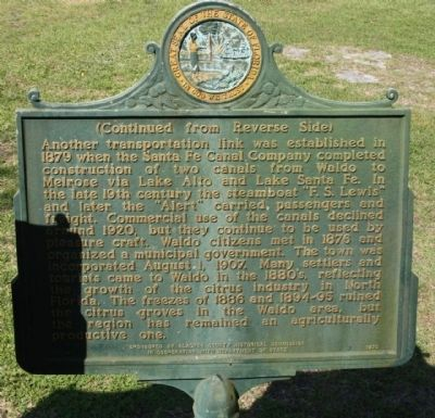 Waldo Marker, reverse side image. Click for full size.