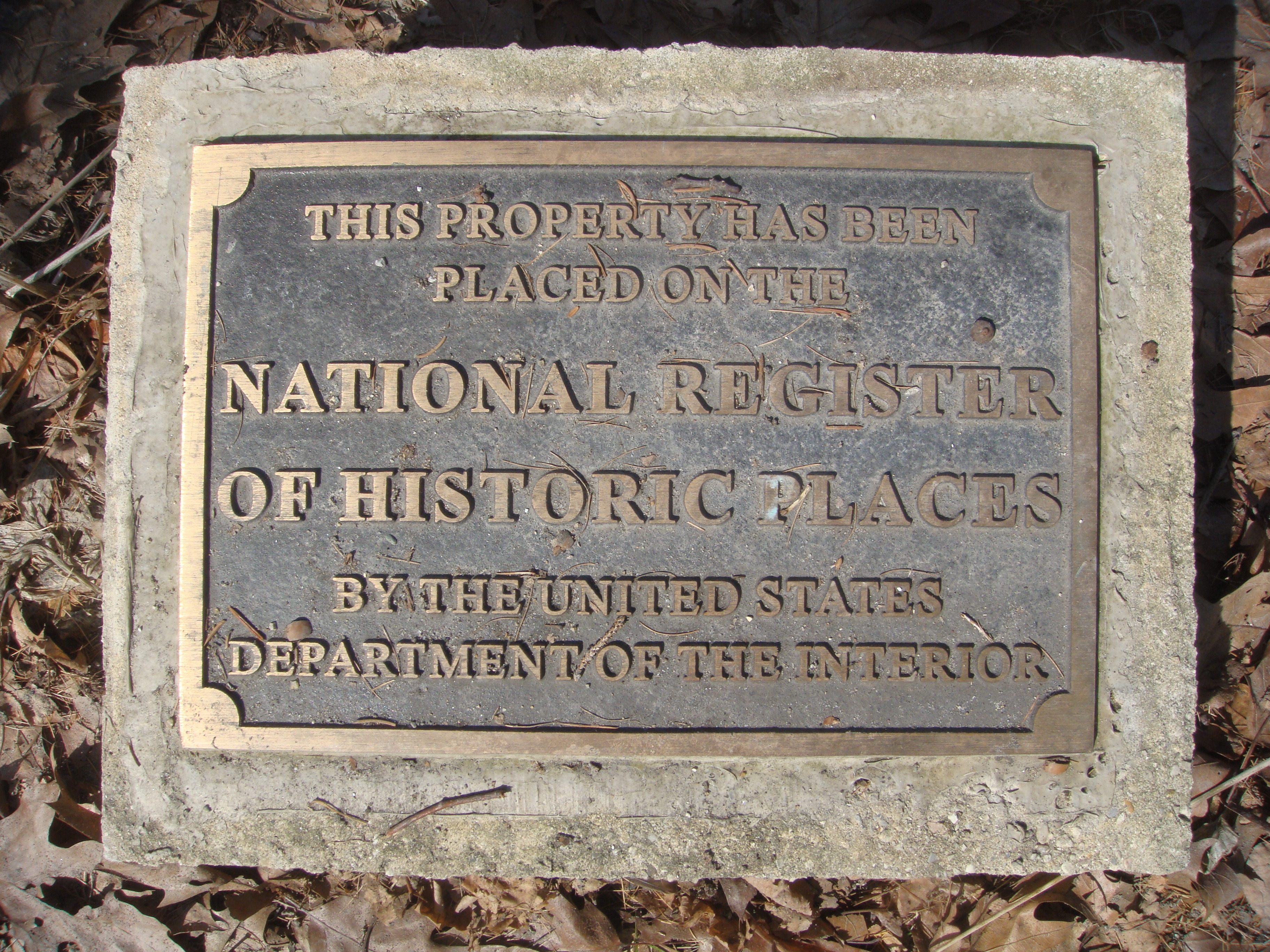 Ely House National Register of Historic Places Marker