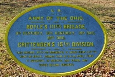 Boyle's Brigade Marker image. Click for full size.