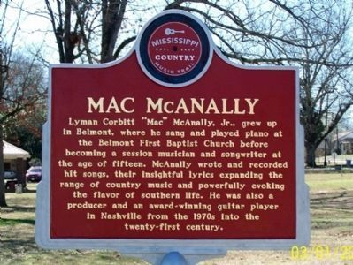 Mac McAnally Marker image. Click for full size.