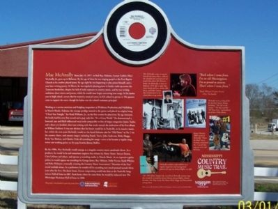 Mac McAnally Marker, rear image. Click for full size.