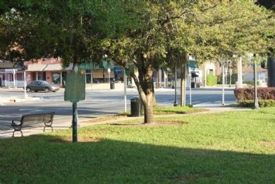 Pasco County Marker seen near the corner of 7th Street and Meridian Avenue image. Click for full size.