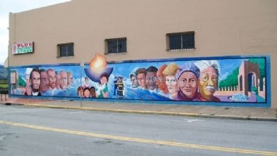 2002 One Voice Murals Project and Marker image. Click for full size.