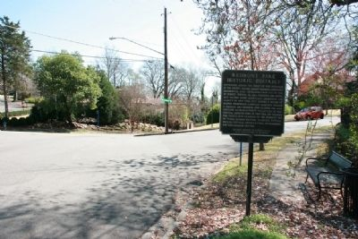 Redmont Park Historic District Marker (South View) image. Click for full size.
