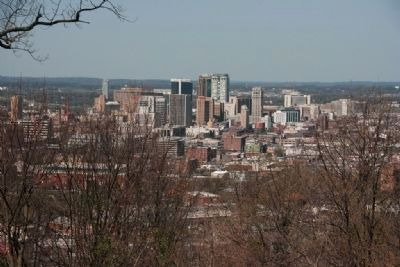 The view from Crest Road, Downtown Birmingham image. Click for full size.