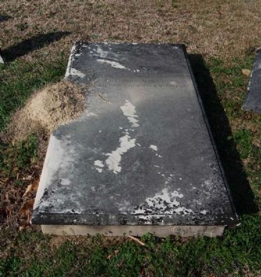 James Hervey Red Tombstone image. Click for full size.