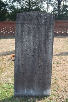 James Foster Tombstone image. Click for full size.