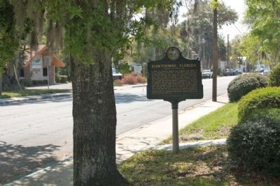 Hawthorne Marker, looking south image. Click for full size.