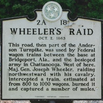 Wheeler's Raid Marker image. Click for full size.