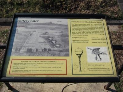 Battery Sater Marker image. Click for full size.