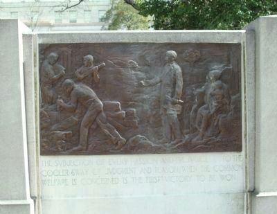 Zebulon Baird Vance Memorial (right side) image. Click for full size.