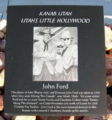 John Ford Marker image. Click for full size.