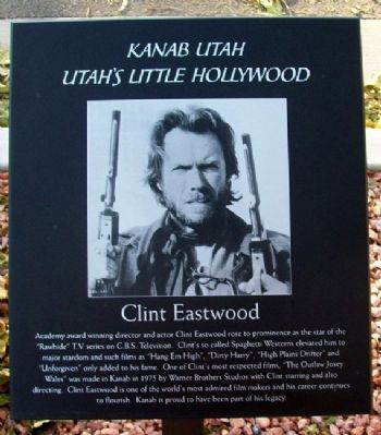 Clint Eastwood Marker image. Click for full size.
