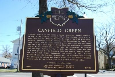 Canfield Green Marker image. Click for full size.