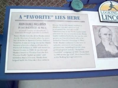 "A ""Favorite"" Lies Here Marker image. Click for full size."