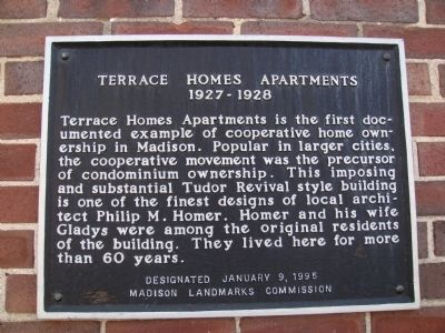 Terrace Homes Apartments Marker image. Click for full size.
