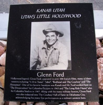 Glenn Ford Marker image. Click for full size.