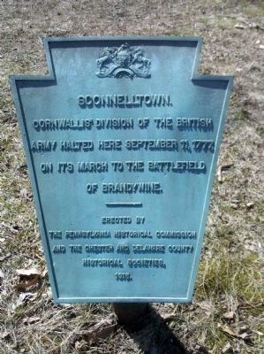 Sconnelltown Marker image. Click for full size.