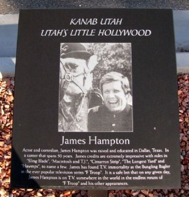 James Hampton Marker image. Click for full size.