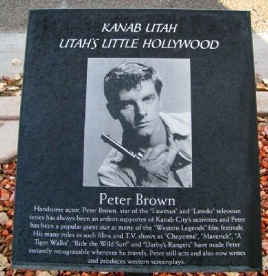 Peter Brown Marker image. Click for full size.
