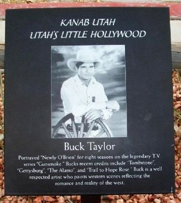 Buck Taylor Marker image. Click for full size.