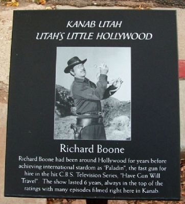 Richard Boone Marker image. Click for full size.