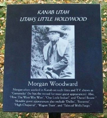 Morgan Woodward Marker image. Click for full size.