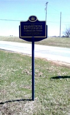 Brandywine Battlefield A Commonwealth Treasure Marker image. Click for full size.