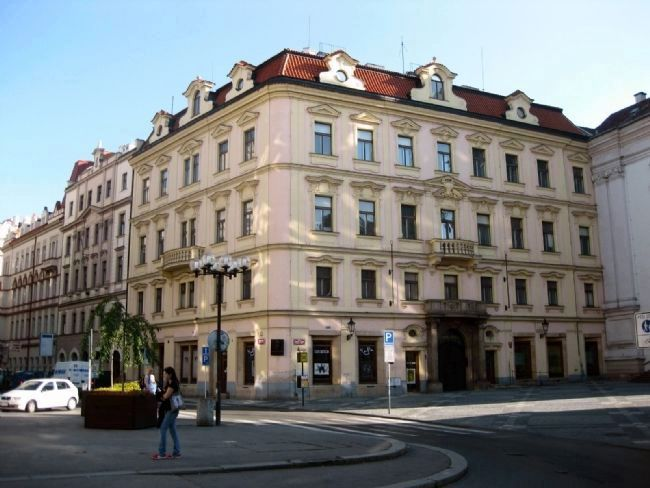 Franz Kafka's birthplace in Prague image. Click for full size.