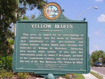 Yellow Bluffs Marker image. Click for full size.