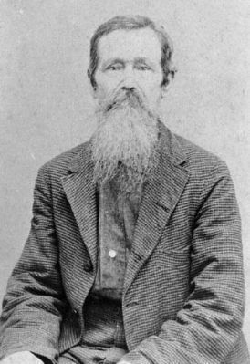 William H. Whitaker, Sarasota's first known European settler. image. Click for full size.