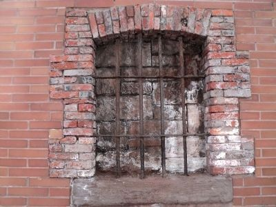 Closeup of Sugar House - Prison Window image. Click for full size.